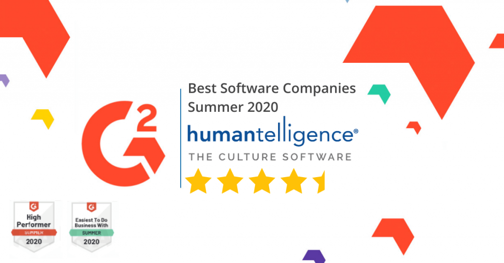 Best Software 2020 by G2Crowd