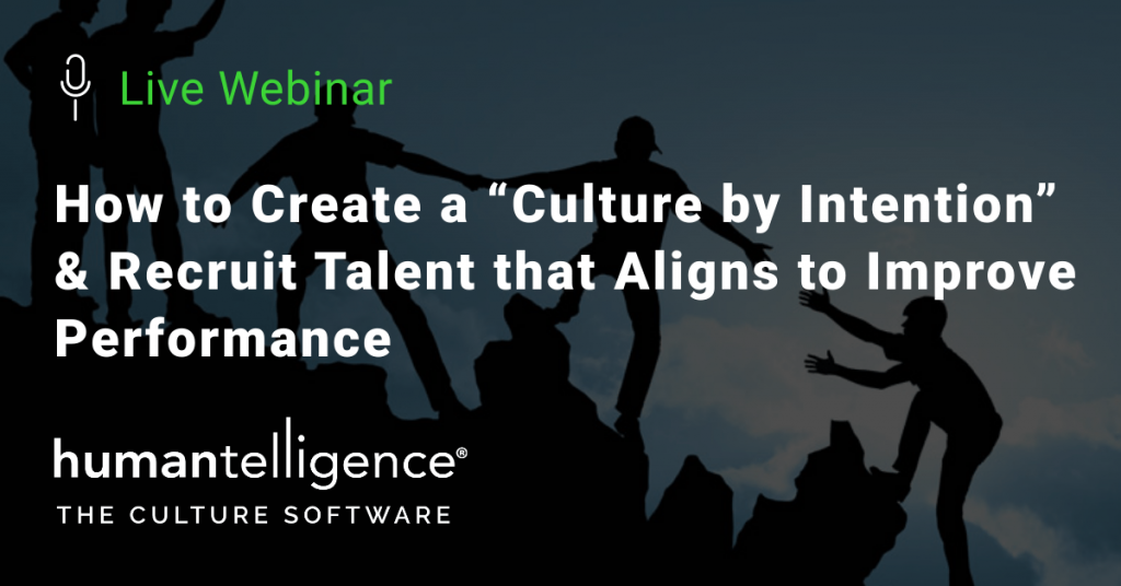 Culture by intention webinar